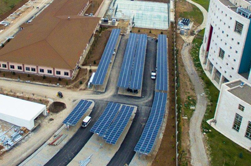 2015 Afad Solar Otopark GES ankara